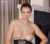 Connie Shows Off Her Round Breasts And Gorgeous Pussy 12