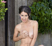 Jess West Gropes Her Breasts And Fingers Her Wet Pussy 11