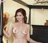 Chrissy Marie Gets Naughty As She Exposes Her Body 11