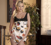 Brea Bennett Touches Her Smooth Inner Thighs 2