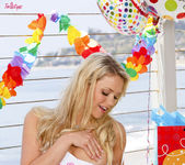 Mia Malkova Celebrates Her Birthday At The Beach 5