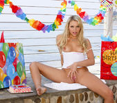 Mia Malkova Celebrates Her Birthday At The Beach 6