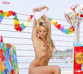 Mia Malkova Celebrates Her Birthday At The Beach 12