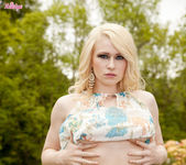 Tegan Jane Peels Off Her Clothes Outdoors 6