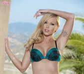 Brea Bennett Strips Off To Please Herself 2