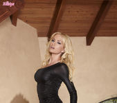 Angela Sommers Gropes Her Naturally Round Breasts 3