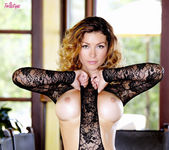 Heather Vandeven Fondles Her Beautiful Breasts And Ass 5