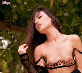 Lorena G Satisfies Her Aroused Pussy Under The Tree 9