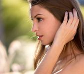 Amber Sym Takes Off Her Top In Warm Sunlight 6