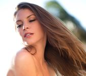 Amber Sym Takes Off Her Top In Warm Sunlight 16