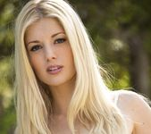 Charlotte Stokely Takes Off Her Jean Shorts And Teal Panties 2