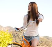 Shae Snow Goes For A Bike Ride 5