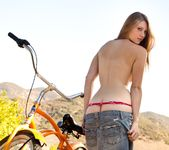 Shae Snow Goes For A Bike Ride 7