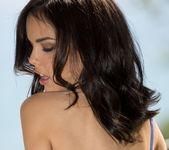 Dillion Harper Takes Off Her Purple Bra And Panties 7