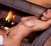 Cassandra Cruz Gets Naughty In Front Of A Warm Fire 9