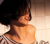 Julia Luba Takes A Hot Shower 8