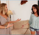Capri Cavanni, Nicole Aniston - Lesbian Girl on Girl 18