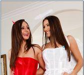Celeste Star, Gracie Glam - Lesbian Girl on Girl 4