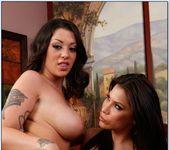 Aleksa Nicole, Melina Mason - 2 Chicks Same Time 7