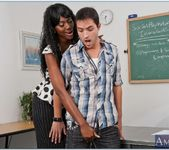 Nyomi Banxxx - My First Sex Teacher 17
