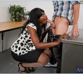 Nyomi Banxxx - My First Sex Teacher 20