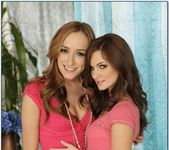 Lily Carter, Victoria Rae Black - 2 Chicks Same Time 11