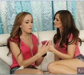 Lily Carter, Victoria Rae Black - 2 Chicks Same Time 17