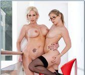 Kasey Grant, Sunny Lane - 2 Chicks Same Time 10