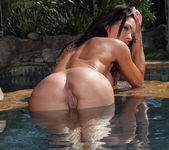 Kirsten Price - Sun Goddess in White Thong 14