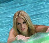 Randy Moore - Turquoise Thong Bikini 11