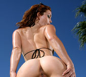 Heather Vandeven - Exotic Leopard G-string Bikini 7
