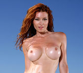 Heather Vandeven - Exotic Leopard G-string Bikini 10