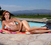 Heather Vandeven - Exotic Leopard G-string Bikini 12
