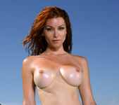 Heather Vandeven - Exotic Leopard G-string Bikini 15