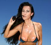 Laura Lee - Transparent Blue Latex Bikini 3