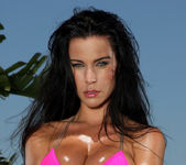 Laura Lee - Pink Scrunch Bottom Bikini 2