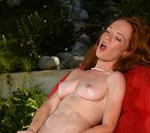 Heather Carolin - Yellow Thong Bikini & Dildo 13