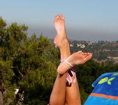 Carli Banks - Sparkling Pink Thong 12