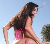 Mindy Vega - Hot Pink Micro Bikini 4