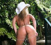 Tylene Buck - Skimpy Cowgirl Sling Bikini 11