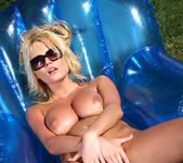 Hannah Hilton - Baby Oil & Blowup Chair 15
