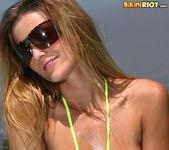 Carli Banks - Neon Micro Bikini 11