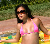 Michelle Maylene - Pink on Raft 6