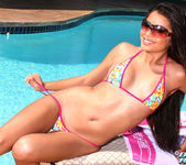 Michelle Maylene - Floral Micro on Lounge 3