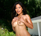 Luana Lani - Gold Metallic G-string 11