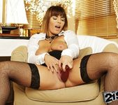 Amy Wild - stockings & dildo 21