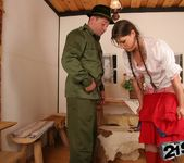 Agata fucked by the park ranger 8