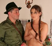 Agata fucked by the park ranger 13