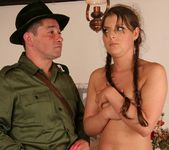 Agata fucked by the park ranger 14