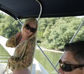 Angie Koks double fucked on the boat 6